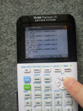 TI-83 Premium CE : sys.stdin