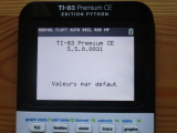 TI-83 Premium CE + OS 5.5