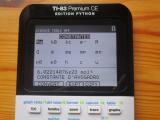 TI-83 Premium CE + SciTools 5.5