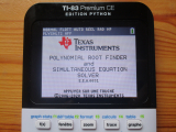 TI-83 Premium CE + PlySmlt2 5.5