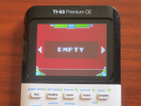 TI-83 Premium CE + Geometry Dash