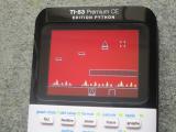 TI-83 Premium CE + Geometry Dash