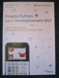 Projets Python SNT 2nde Eyrolles