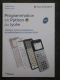 Programat. Python lycée Eyrolles