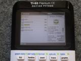 TI-83 Premium CE Python + Cesium