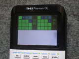 TI-83 Premium CE + arTIfiCE 1.0