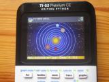 TI-83 Premium CE: Solar (Python)