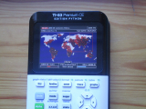 TI-83 Premium CE + Contagion