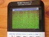 TI-83PCE + animation Matrix