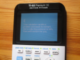 TI-83 Premium CE + écran BSoD