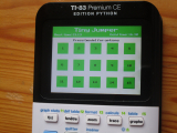 TI-83 Premium CE + Tiny Jumper