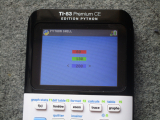 TI-83 Premium CE + RGB interface