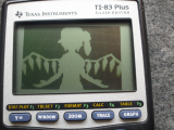 TI-83+SE + Bad Apple demo