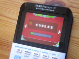 TI-83PCE + Geometry Dash Cycles