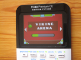 TI-83PCE + GDash & Viking Arena