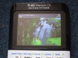TI-83PCE + img2calc Python