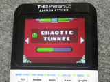 TI-83PCE + GDash Chaotic Tunnel