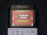 TI-83PCE + GD & Jumper Maze