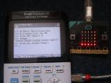 img2calc : TI-83PCE + micro:bit