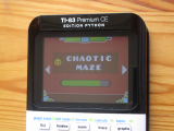 TI-83PCE + GD & Chaotic Maze