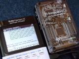 TI-83 Premium CE + midi2calc
