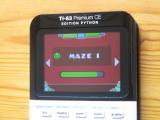 TI-83PCE: Geometry Dash & Maze I