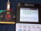 midi2calc : TI-83PCE + micro:bit