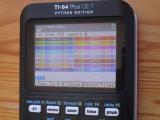 TI-84+CE:  commandes CSI Python