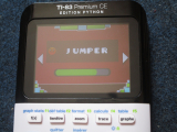 TI-83PCE + Geometry Dash Jumper