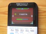TI-83PCE + Geometry Dash Tarta