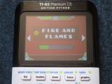 TI-83PCE : GDash + Fire & Flames