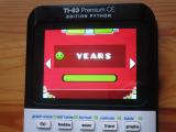 TI-83PCE : Geometry Dash & Years
