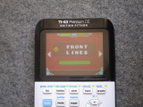TI-83PCE + GDash & Front Lines
