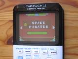 TI-83PCE + GDash & Space Pirates