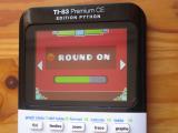 TI-83PCE + Geom. Dash & Round 1