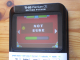 TI-83PCE + G. Dash & Not Sure