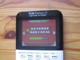 TI-83PCE : GD & Reverse Maniacal