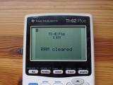 TI-82 Plus + OS 1.12s
