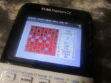 TI-83 Premium CE + Checkers