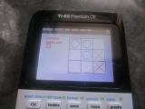 TI-83 Premium CE + Tic-Tac-Toe