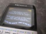 TI-83 Premium CE + CMonster 1004