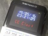 TI-83 Premium CE + CE Clock