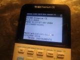 TI-83 Premium CE + OS 5.2.1.0042
