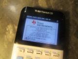 TI-83 Premium CE + menu allumage