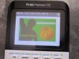 TI-83 Premium CE + Basket