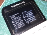 TI-83PCE +écran noir exception