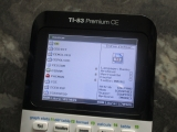TI-83 Premium CE + Cesium