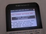 83 Premium CE + batterie faible