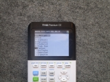 TI-83 Premium CE + Python