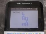TI-83 Premium CE + FRACFIBO